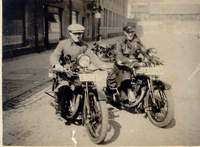 BSA Sloper and maybe a Raleigh